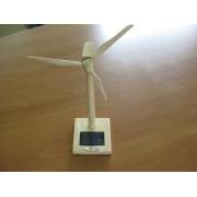 Aeroxerador solar madeira