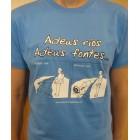 Camiseta Adeus Ríos Adeus Fontes