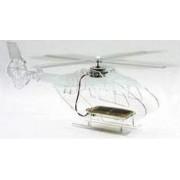 Helicóptero solar transparente